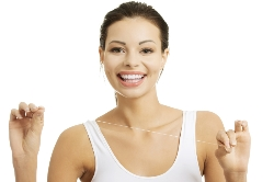 Flossing And Teeth Whitening