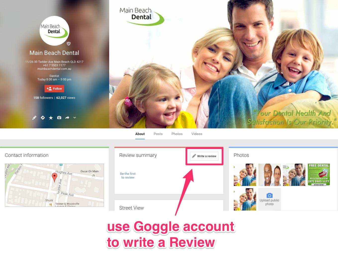 Main Beach Dental - About - Google