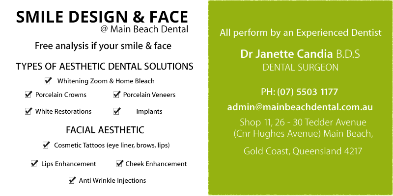 Smile Design and Face | Main Beach Dental | Dentist Gold Coast