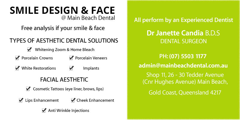 Smile Design and Face   Main Beach Dental   Dentist Gold Coast