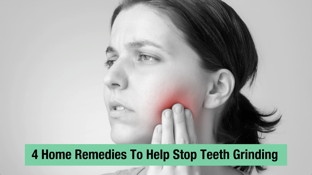 how to stop grinding teeth naturally